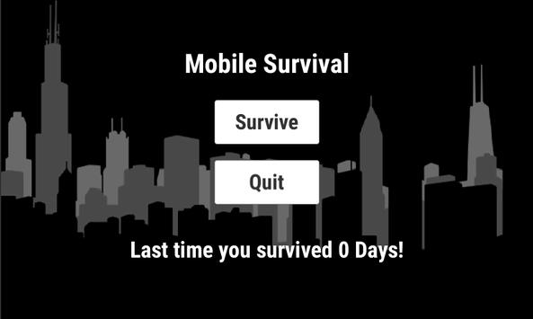 Mobile Survival poster