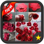 Creative Paper Flower Ideas icon