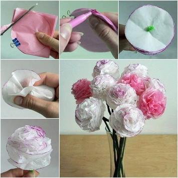Creative Paper Flower Ideas poster