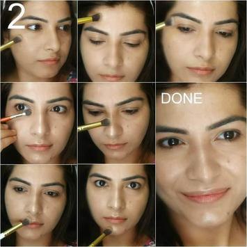 DIY makeup contouring tutorial screenshot 2