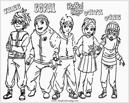 How to draw boboiboy apk screenshot