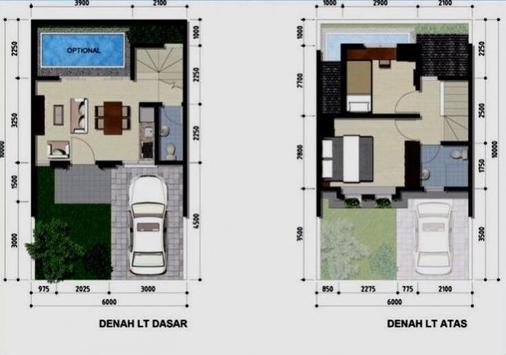 Rencana Rumah dan Lay Out poster