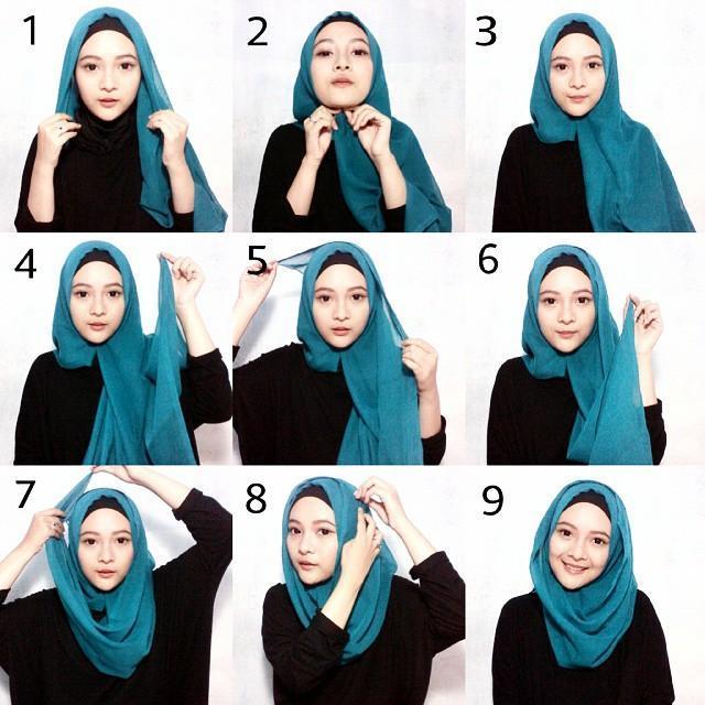 Tutorial Hijab Segi Empat 2017 For Android Apk Download
