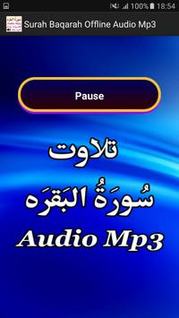 Surah Baqarah Offline Audio apk screenshot