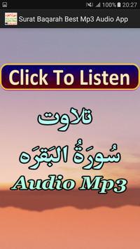 Surat Baqarah Best Mp3 Audio poster