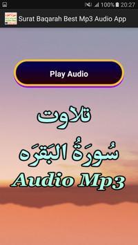 Surat Baqarah Best Mp3 Audio apk screenshot