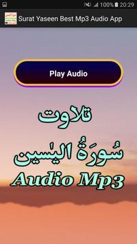 Surat Yaseen Best Mp3 Audio screenshot 3