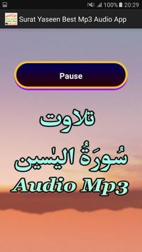 Surat Yaseen Best Mp3 Audio screenshot 2