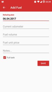 Motorcycle Fuel Log - Mileage tracker screenshot 4
