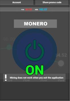Monero Miner screenshot 2