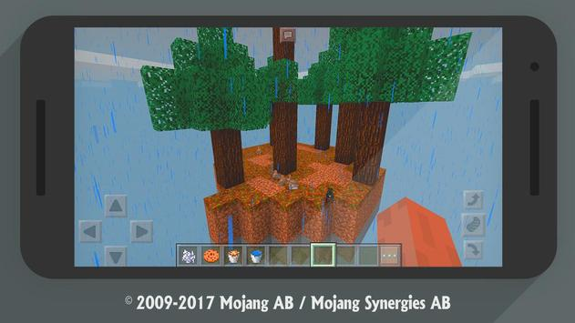 Skyblock Minecraft Map Survival For MCPE For Android APK Download - Minecraft maps skyblock 1 11 2