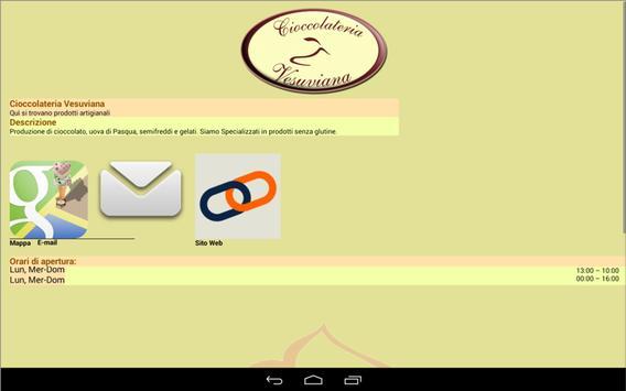 Cioccolateria Vesuviana screenshot 4