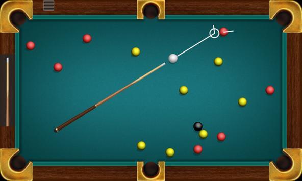 Billiard الملصق