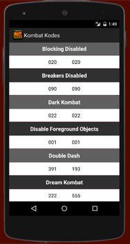 Moves for Mortal Kombat apk screenshot