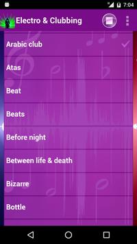 Electro & Clubbing Ringtones screenshot 1