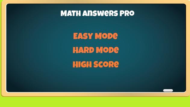Math Answers Pro poster