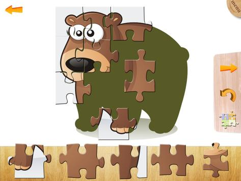 Puzzles for kids and toddlers poster