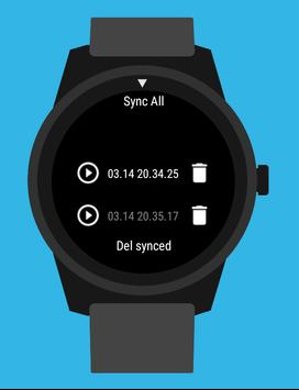 Wear Audio Recorder apk screenshot