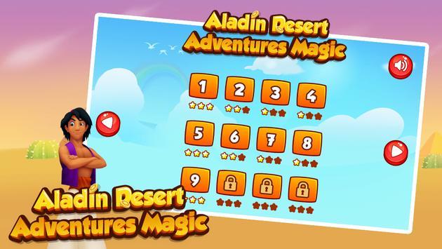 Aladin Desert Adventures Magic poster