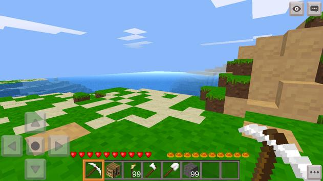 Crafting Game Build a village apk screenshot