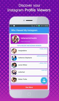 Who viewed my profile instagram – Visitors Tracker screenshot 1