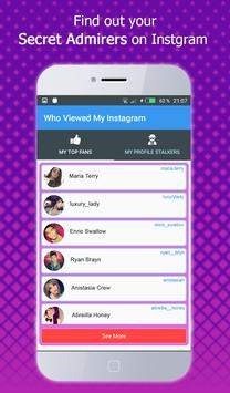 Who viewed my profile instagram – Visitors Tracker screenshot 3