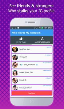 Who viewed my profile instagram – Visitors Tracker screenshot 4