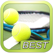 Tennis sport puzzle game icon
