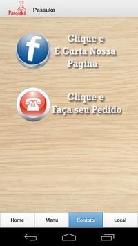 Passuka Pizzas e Lanches apk screenshot