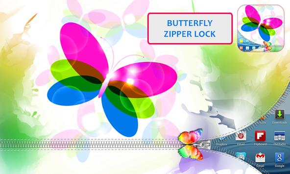 Butterfly Zipper Lock poster