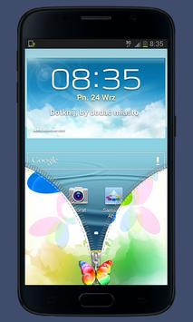 Butterfly Zipper Lock apk screenshot