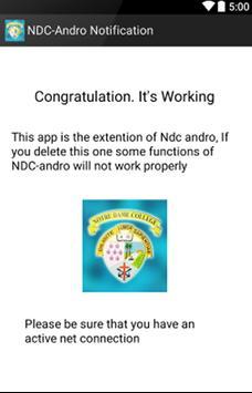 NDC-Andro Extension screenshot 1