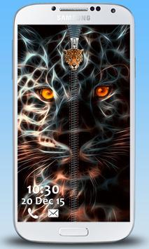 Leopard Zipper Lock screenshot 1