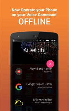 AiDelight - Offline Personal Assistant poster