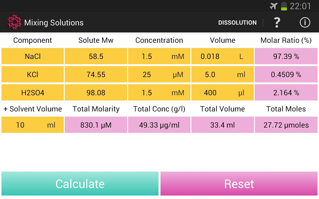 Chemical Solution for Android - APK Download