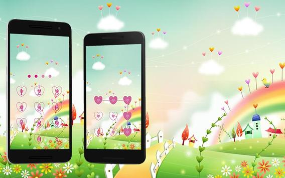 Applock Theme rainbow 2 apk screenshot