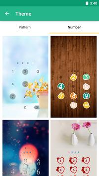 Applock Theme Be Quiet screenshot 3