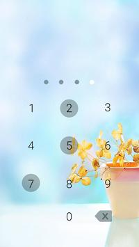 Applock Theme Be Quiet screenshot 1