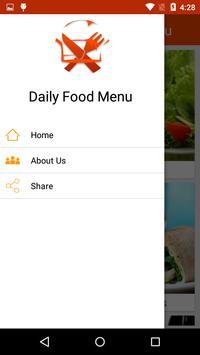 Daily Food Menu screenshot 3
