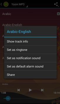 Surah Yaseen MP3 screenshot 8