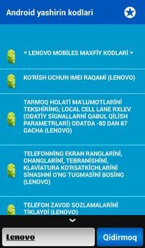 Telefon Maxfiy Kodlari screenshot 18