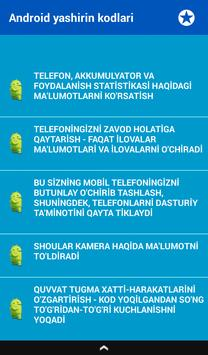 Telefon Maxfiy Kodlari screenshot 11