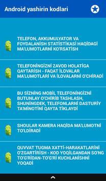 Telefon Maxfiy Kodlari screenshot 6