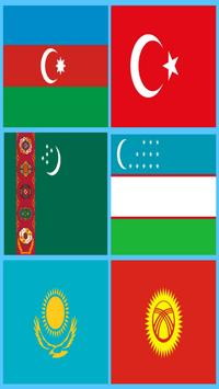 National anthem of Turkish states (Ringtones) poster