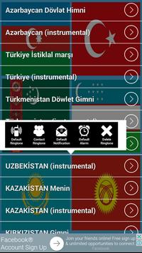 National anthem of Turkish states (Ringtones) screenshot 2