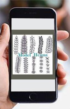 Model Henna poster