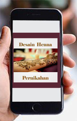Desain Henna Pernikahan poster