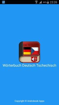 German Czech Dictionary poster