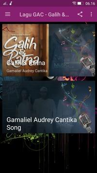 Lagu GAC - Galih&Ratna poster