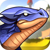Extreme Angry Dinosaur 3D icon